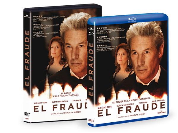 El fraude en DVD/BLURAY